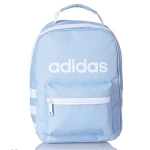 Adidas Santiago Lunch Bag - Glow Blue and White